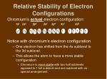 relative stability of electron configurations4