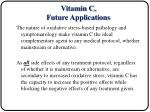 vitamin c future applications1