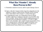 what has vitamin c already been proven to do16