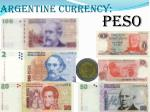 argentine currency