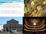 teatro de col n located in buenos aires is one of the world s largest opera houses