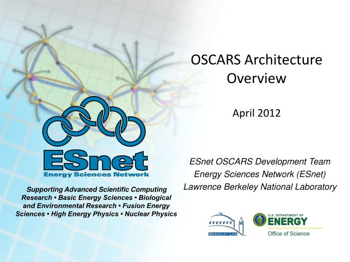 oscars architecture overview april 2012 n.