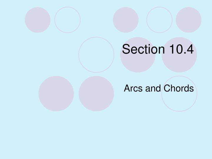 Section 10 4