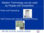 modern technology can be used by people with disabilities