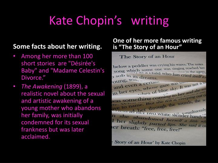 a discussion and analysis of kate chopins the awakening Dive deep into kate chopin with extended analysis, commentary, and discussion.