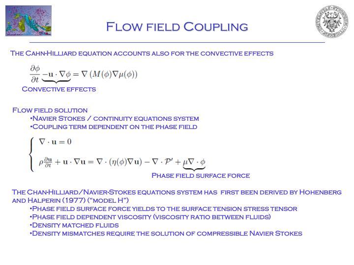 Flow field Coupling
