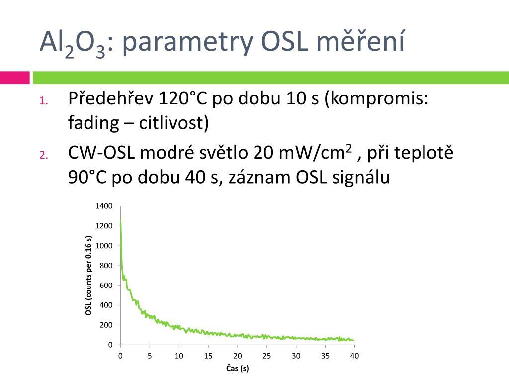 Termoluminiscence datování ppt