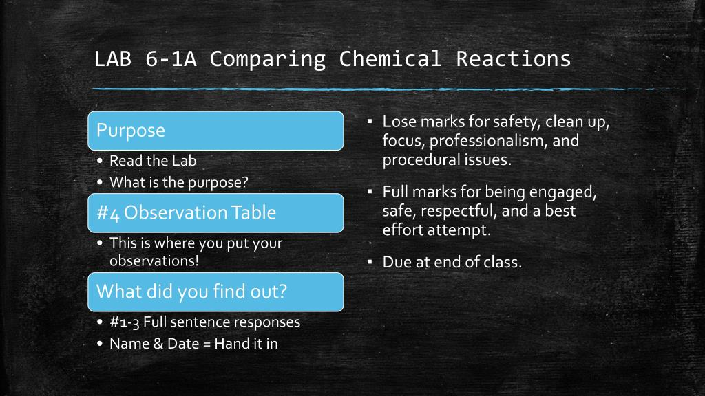 PPT - Chemical Reactions Occur in Predictable Ways