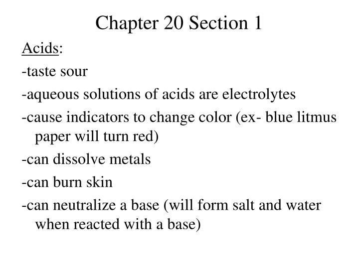 chapter 20 section 1 n.