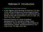 hebrews 4 introduction7