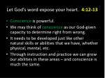 let god s word expose your heart 4 12 1311
