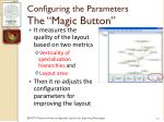 configuring the parameters the magic button