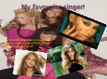 my favourite singer