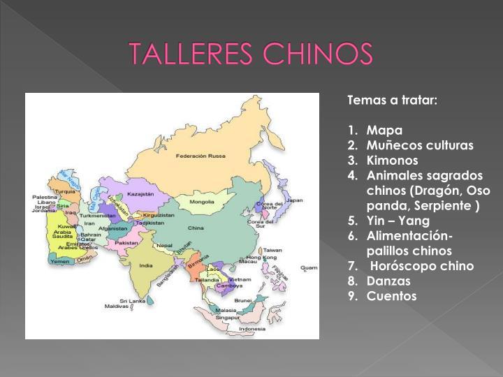 TALLERES CHINOS