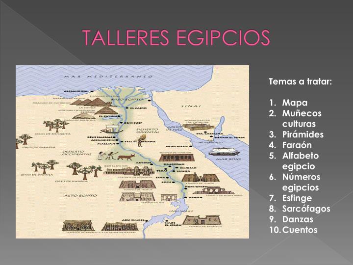 Talleres egipcios