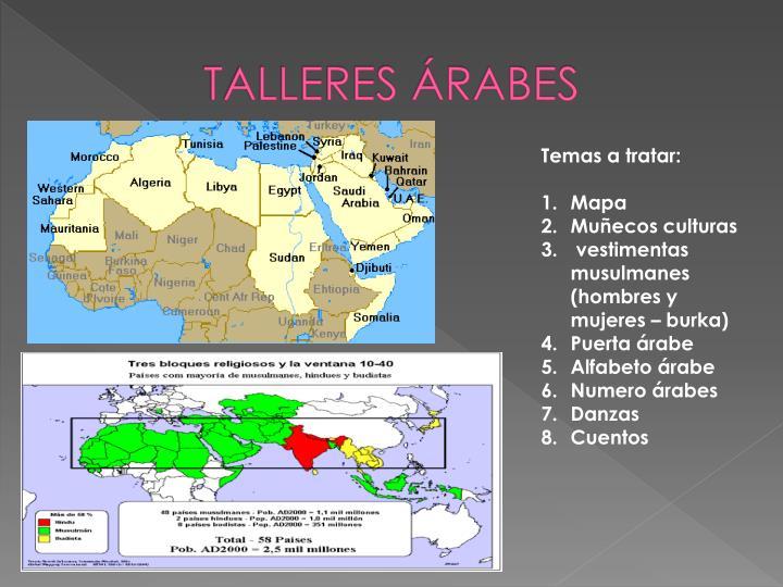 TALLERES ÁRABES