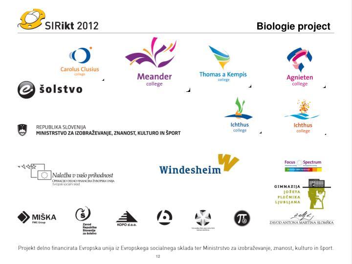 Biologie project