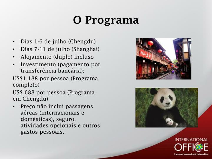 O programa1