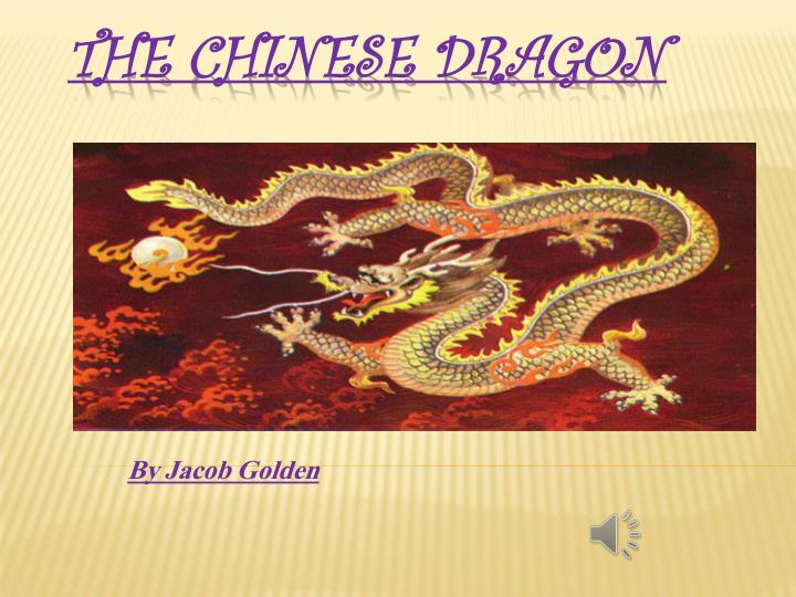 ppt - the chinese dragon powerpoint presentation - id:2278079, Powerpoint templates