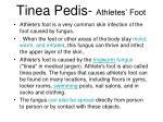 tinea pedis athletes foot