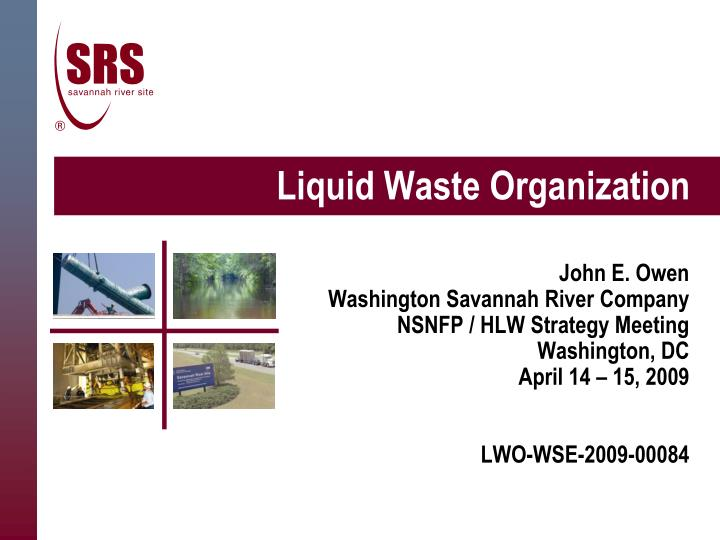 liquid waste organization n.
