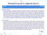 p evakorra punkt 4 agenda i tem 4