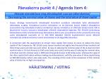 p evakorra punkt 4 agenda i tem 41