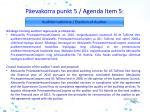 p evakorra punkt 5 agenda i tem 5