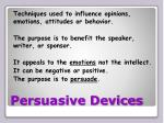 persuasive devices