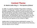 contest theme