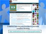 creative learning environments promote creative thinking
