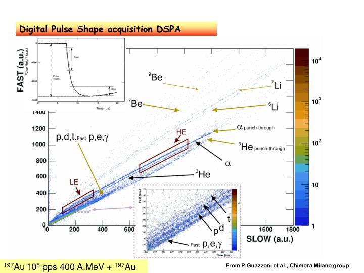 Digital Pulse Shape acquisition DSPA