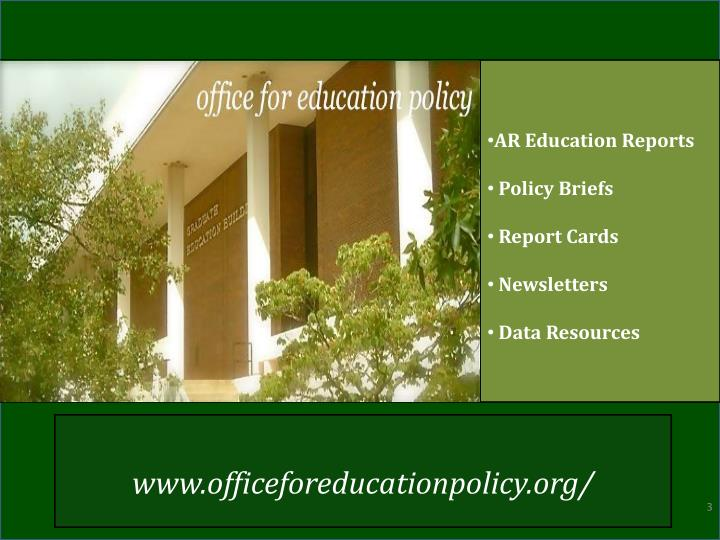 AR Education Reports