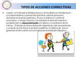 tipos de acciones correctivas1