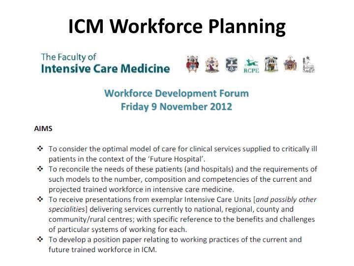ICM Workforce Planning
