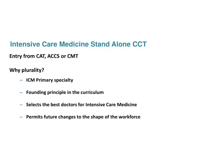 Entry from CAT, ACCS or CMT