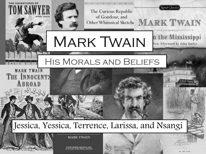 mark twain a morally deficient essay Directory of mark twain's maxims, quotations and moral courage so rare - mark twain in eruption - more maxims of mark.