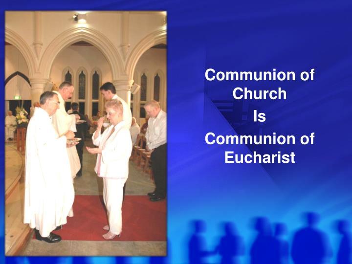 Communion of Church