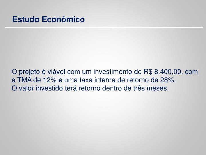 Estudo Econômico