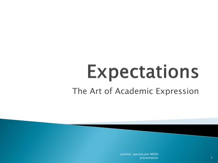 expectations n.