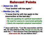 relevant points3