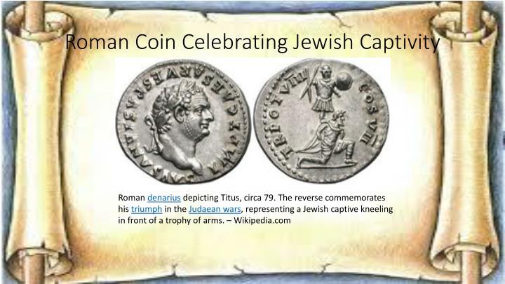 Roman Coin Celebrating Jewish Captivity