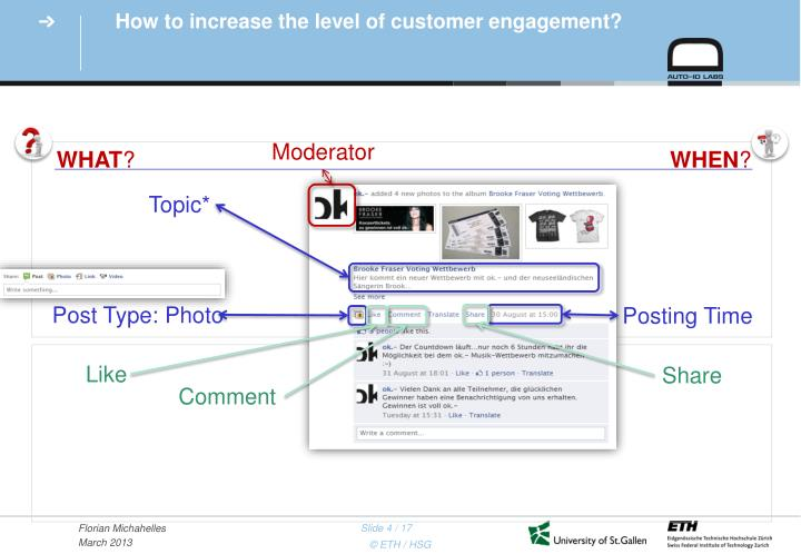 How to increase the level of customer engagement?