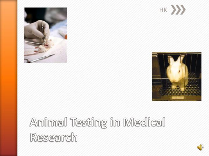 the ethics of medical animal testing 1 scientific men are under definite obligation to experiment upon animals so far as that is the alternative to random and possibly harmful experimentation upon human beings, and so far as such.