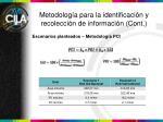 metodolog a para la identificaci n y recolecci n de informaci n cont2