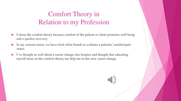 Comfort Theory in