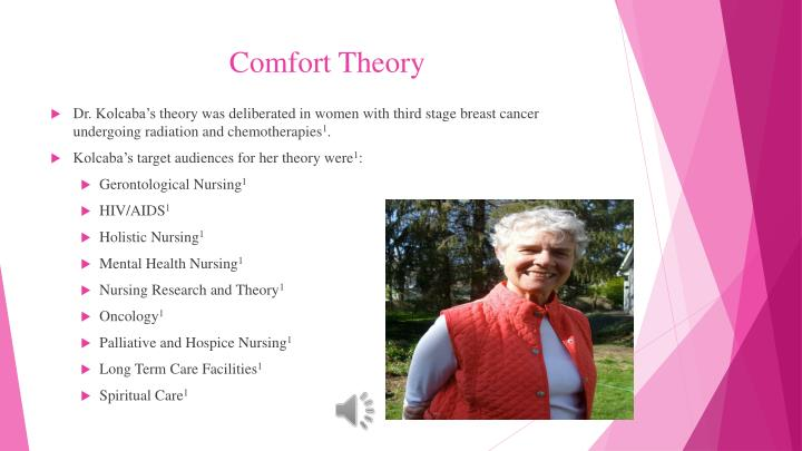 Comfort theory