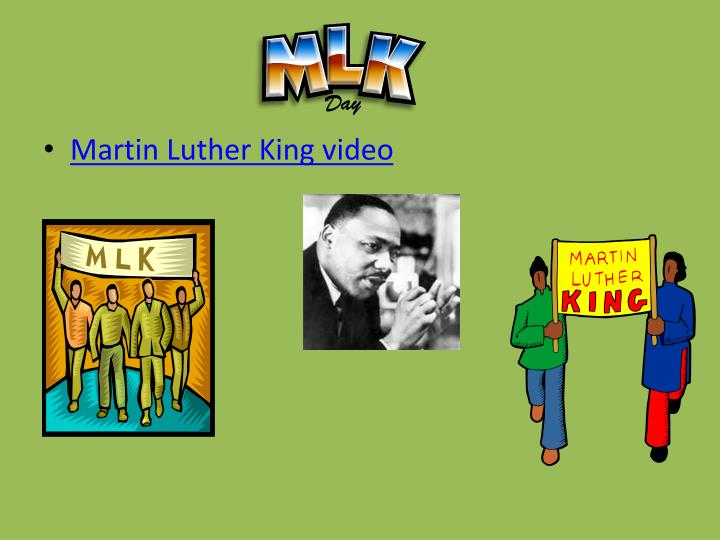 Martin Luther King video