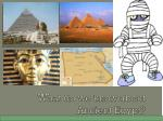 what do we know about ancient egypt