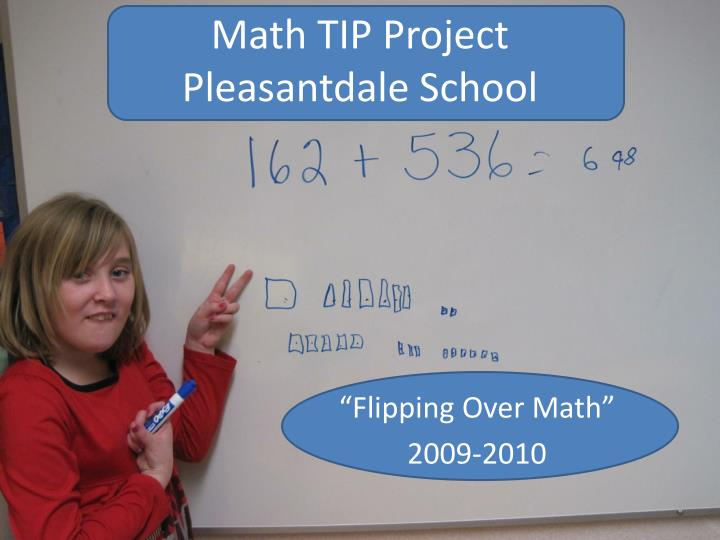 math tip project pleasantdale school n.